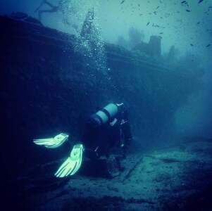Epave Diving Méditerranéen les deux frères 40m
